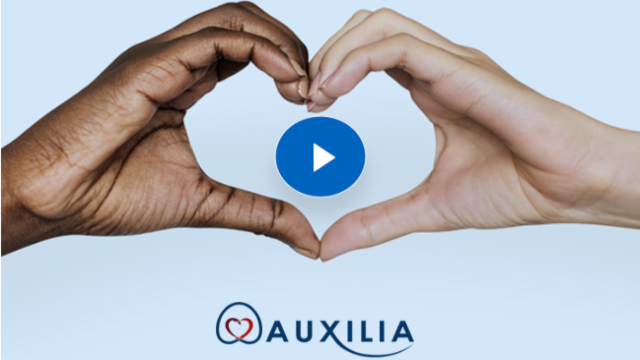 Video - learn more about Auxilia's donor management system