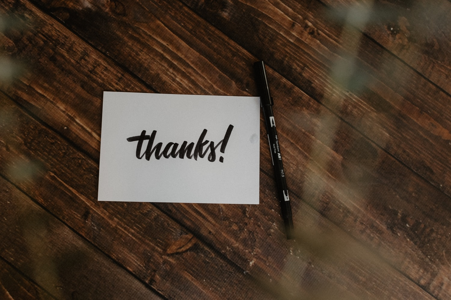 Thank you note is a simple way to engage and keep your donors loyal.